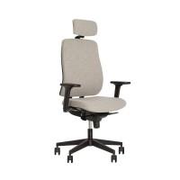 Кресло для персонала ABSOLUTE R HR black ES PL70/Абсолют