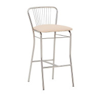 Барный стул NERON hoker chrome)/Нерон