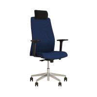 Кресло руководителя SOLO R HR steel ST AL70/СОЛО