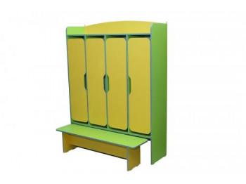 Шкафы и вешалки для школы и детского сада