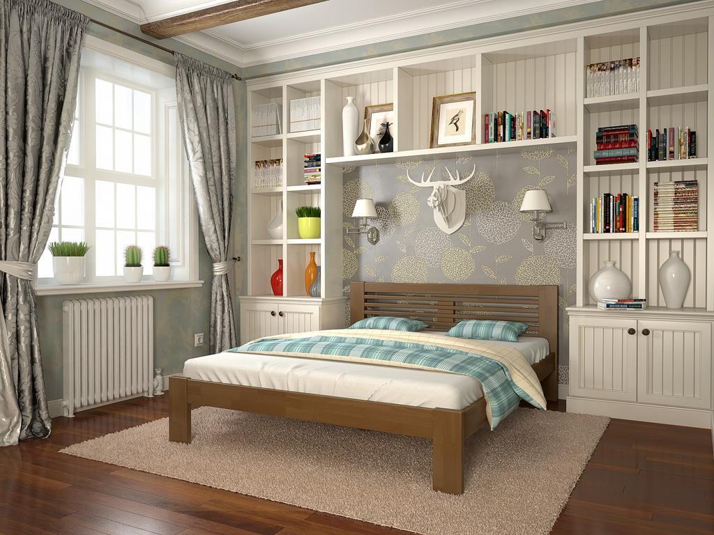 Деревянная кровать в Одессе из ассортимента магазина «Оникс»