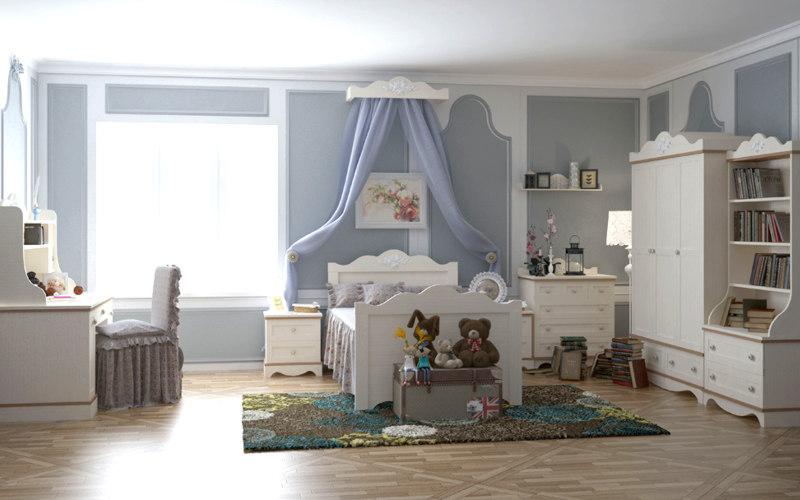 Мебель для просторной детской комнаты в Одессе