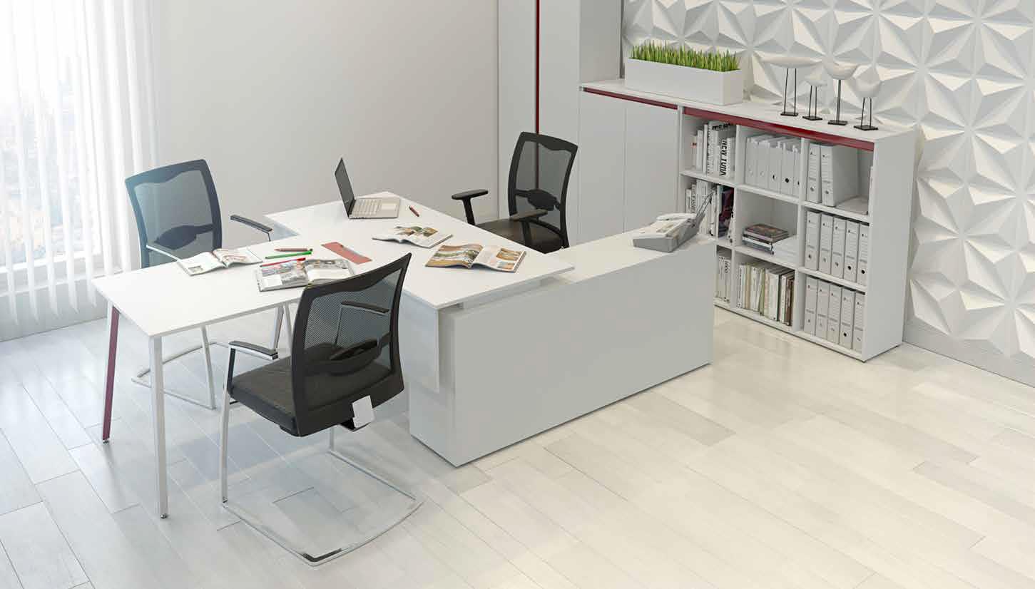 Офисная мебель белого цвета в Одессе от Onix